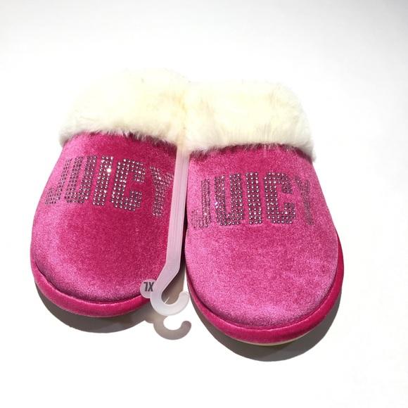 1d4ea73995c Juicy by Juicy Couture Gabi Crystal Slippers